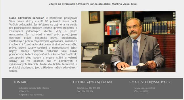 JUDr. Martin Vlcek, CSc.